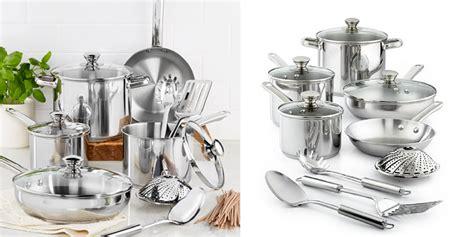 Promo Brand Kingko Panci Set 5 Plus Steamer stainless steel 13 pc cookware set only 29 99 shipped reg 120 00 julie s freebies
