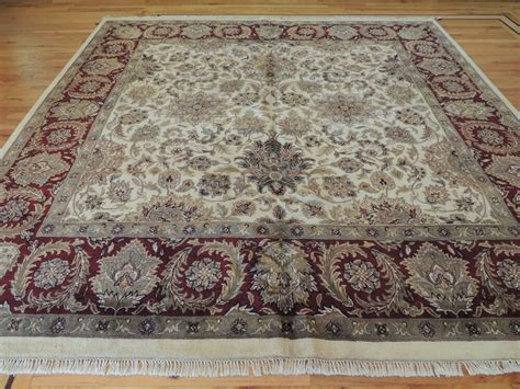 Square Carpets Rugs by Lovely Large Agra Square Area Rug Carpet 10x10 Ebay
