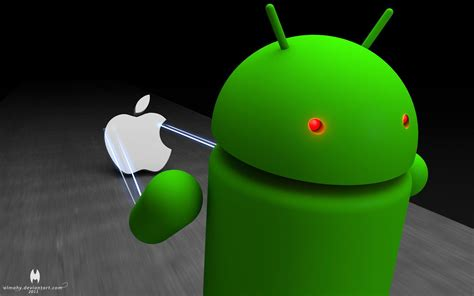 wallpaper android apple apple vs android wallpapers wallpaper cave