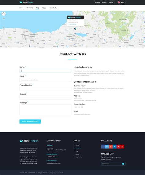 themeforest contact support hotel finder online booking psd template by bestwebsoft