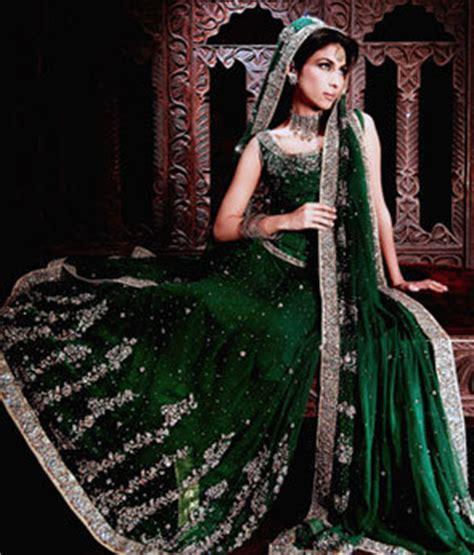 pakistan bottle green bridal wear lehnga sale latest