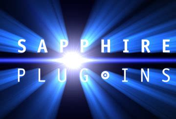 sapphire plug ins for after effects