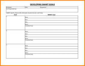 personal goals and objectives template 5 smart goal worksheet pdf cv for teaching