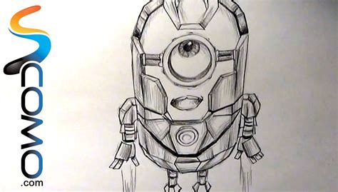 iron man minion coloring page dibujar minion iron man youtube