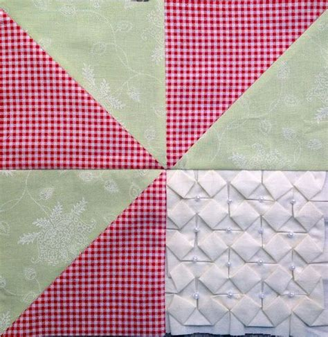 origami quilt tutorial textured 4 patch quilt tutorial green quilt and origami