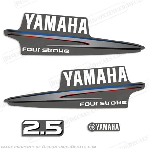 Yamaha 4hp Sticker by Yamaha Decals
