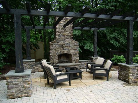 Backyard Grill Landscaping Outdoor Grills Kitchens Fireplaces Pits Creative