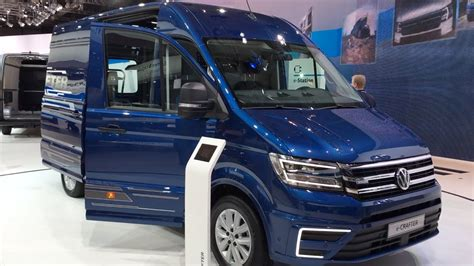 volkswagen crafter 2017 interior volkswagen e crafter 2017 in detail review walkaround