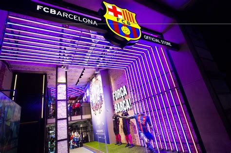 barcelona official store fc barcelona and nike open new store in barcelona news