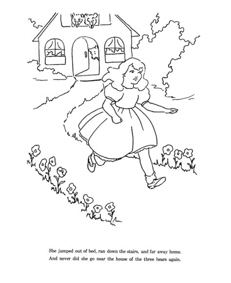 printable coloring pages for goldilocks and the three bears three bears coloring pages bestofcoloring com
