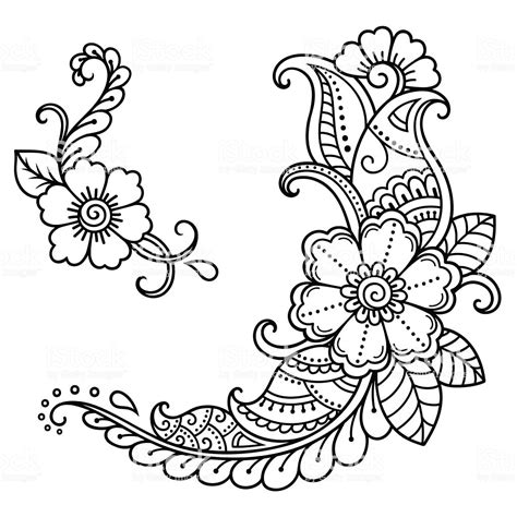 henna tattoo designs printable henna patterns template makedes