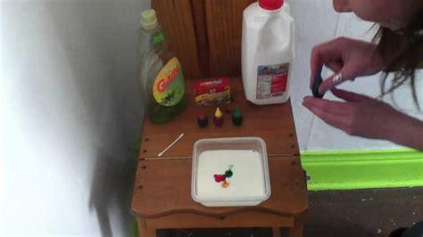 milk food coloring dish soap milk food coloring dish soap chemistry