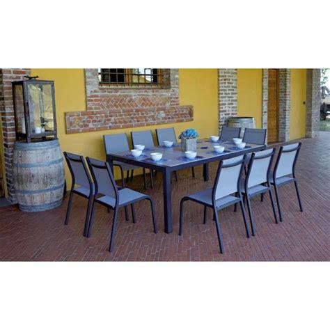 set tavolo sedie giardino set tavolo e sedie da giardino siena di greenwood in offerta