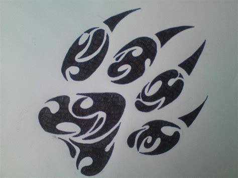 tribal paw print tattoo pin tribal paw print cake ideas and designs cake on
