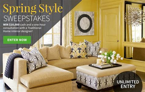 Traditional Home Sweepstakes - traditional home sweepstakes image mag