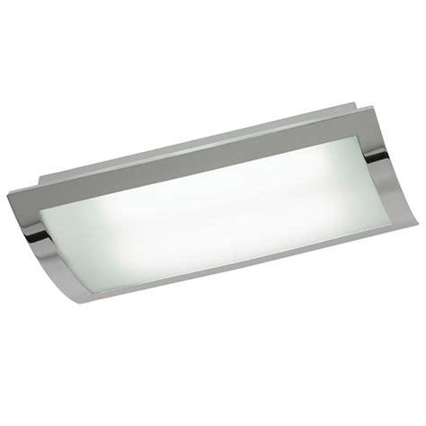 Low Energy Kitchen Lights Endon 1405 45 Ch 2 Light Low Energy Flush Ceiling Kitchen Light Opal Glass Chrome Finish