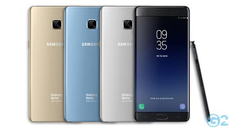 samsung galaxy note 7 fan edition galaxy note 7 samsung pr 228 sentiert offiziell die fan edition