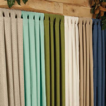 best outdoor curtains best outdoor drapes sunbrella curtains in lots of colors