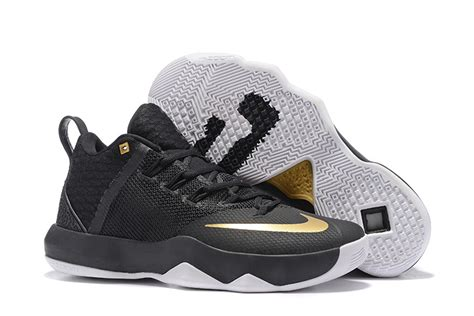 nike ambassador 9 ix lebron black and gold