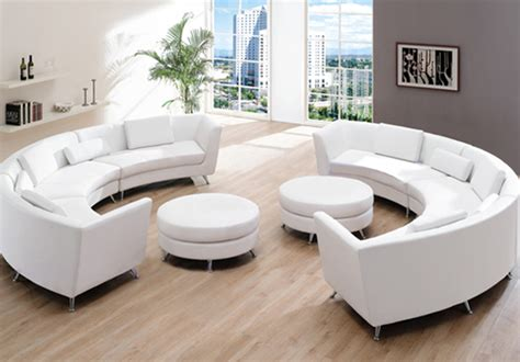 round couch for sale roller espresso leather sectional round sofa s3net