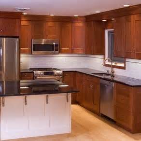 hand made cherry kitchen cabinets by neal barrett custom kitchen cabinets custommade com