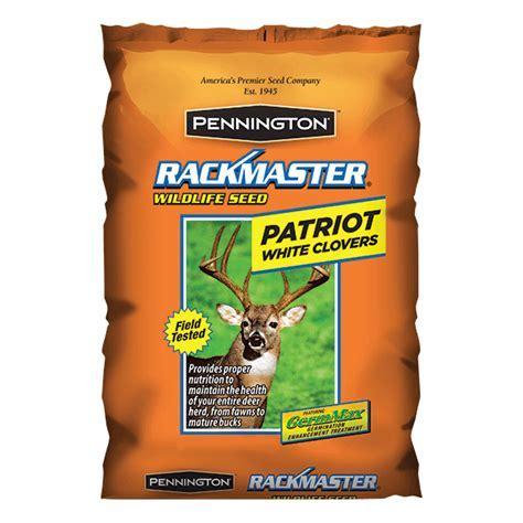 Rackmaster   Food Plot Seed Mixes   Pennington