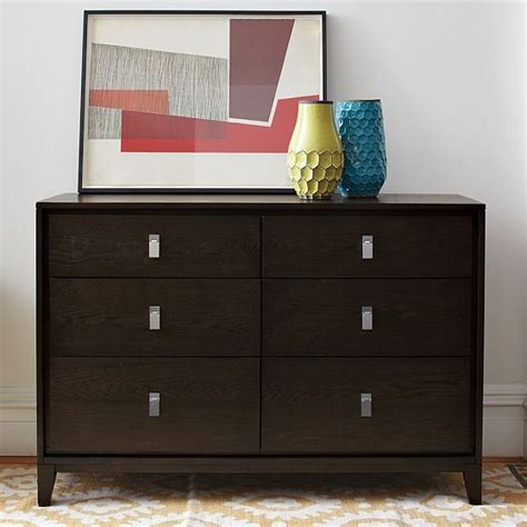 modern bedroom dressers and chests niche 6 drawer dresser modern dressers chests and bedroom