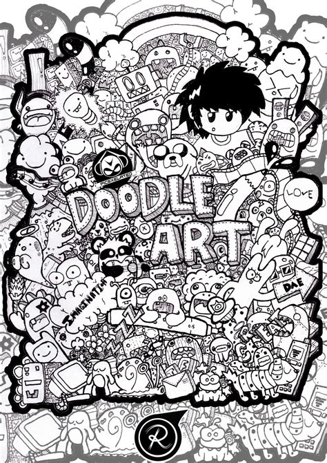 doodle drawings doodle by remoel tolentino on deviantart