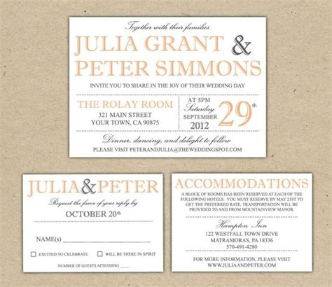 modern wedding invitations templates modern wedding invitation template printable diy wedding