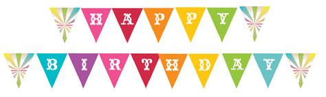 make a printable birthday banner diy printable rainbow birthday banner