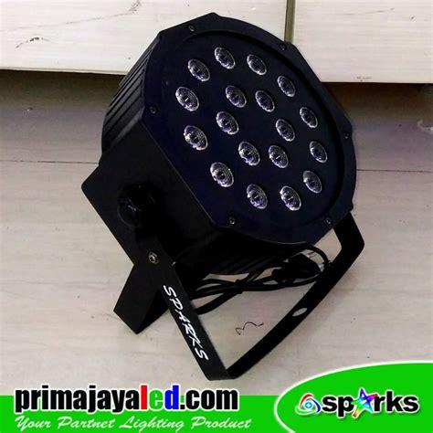 Lu Par Spark Mini 12 X 1 Watt mini par led 18 rgb prima jaya led