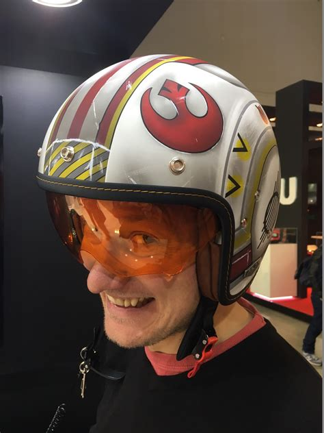Star Wars Motorradhelm by Milan Show Another Look At The Hjc Star Wars Rebel Pilot