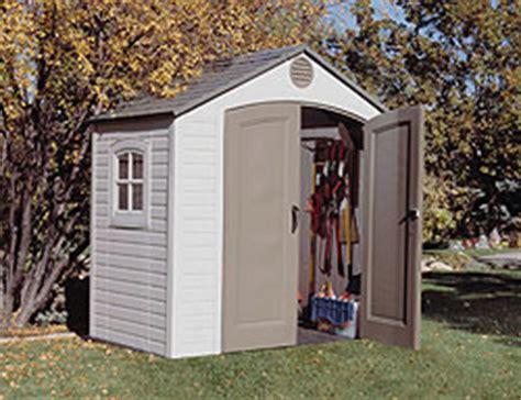 Garden Shed 8 X 5 by Sentinel 8 X 5 Plastic Storage Shed By Lifetime
