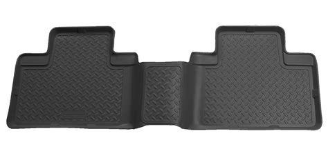 husky liners classic floor mats set black for nissan titan
