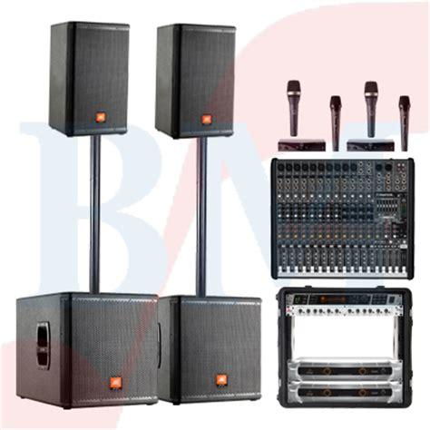 Speaker Jbl Lapangan paket sound system high power jbl paket sound system