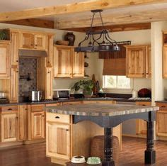 hickory kitchen cabinets natural characteristic materials hickory rustic kitchen cabinets by medallion a natural