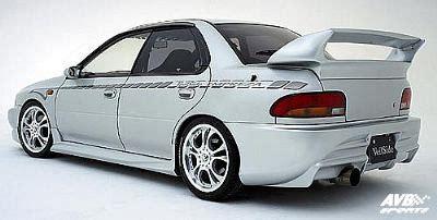 rearbumper for subaru impreza 1994 1998 avb sports car tuning spare parts rear wing for subaru impreza 1994 1998 avb sports car tuning spare parts