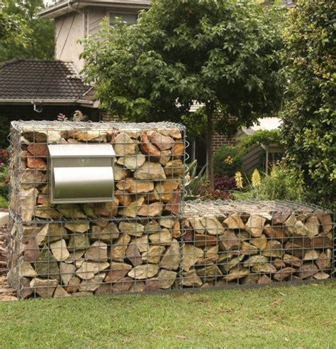 build  gabion wall gardendrum