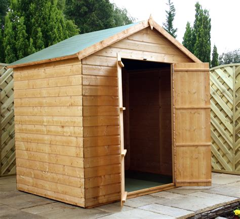 Windowless Shed by 5 X 7 Windowless Tongue And Groove Apex Shed With