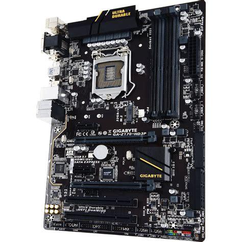 Motherboard Gigabyte Ga Hm110m A gigabyte ga z170 hd3p motherboard rev 1 0 ga z170 hd3p b h
