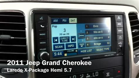 2011 Jeep Grand Navigation Update 2011 Jeep Grand Laredo X Package Hemi 5 7