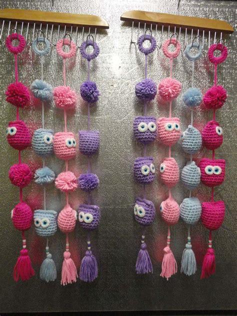 adornos navideos tejidos al crochet buhos tejidos al crochet imagui