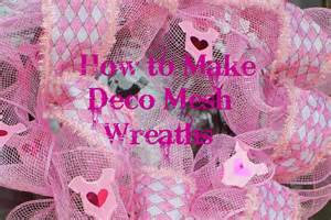 miss kopy how to make deco mesh wreaths