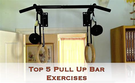 Top Pull Up Bar by Top 5 Pull Up Bar Exercises