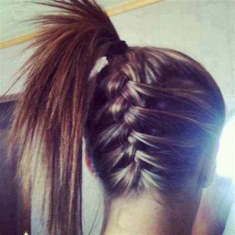 Braids Abd Then Hanging Down | cool upside down french braid hair pinterest