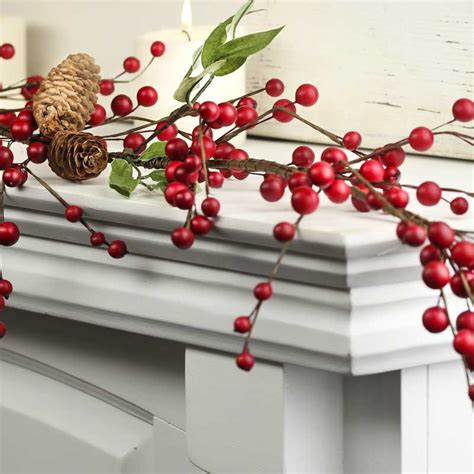 artificial popcorn cranberry garland faux popcorn cranberry garland pictures to pin on