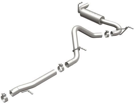Jeep Wrangler Exhaust Systems Exhaust Systems For 2012 Jeep Wrangler Magnaflow Mf15118