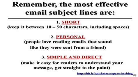 subject how to write effective subject lines how to write effective email subject lines that get read