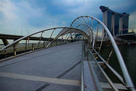 helix bridge helix bridge marina bay singapore to india