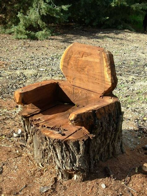 Tree Stump Patio by 61 Best Log Furniture Ideas Images On